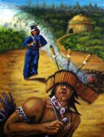 Pomo indians by keys307a