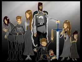 House Stark by Sir-Heartsalot