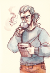 Morning coffee by Rimmo