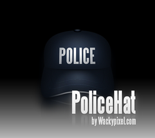 Police Hat Icon by wackypixel