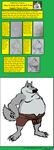 How to draw the Fat wolf from Happily Never Af by NightCrestComics