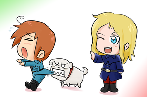 APH: The Might of France by BladeXD