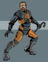 Gordon Freeman by literacysuks1