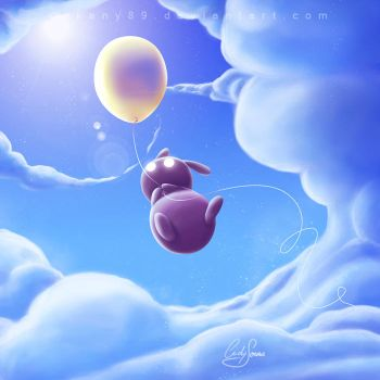 Flying Away by Akany89