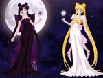 Princess Severity and Princess Serenity by CrystalSailorMoon