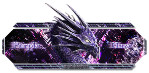 Purple Dragon banner by C-Megalodon