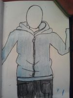 person wearing a hoodie nr 3 by izzy3301