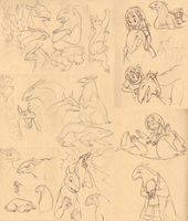 typhlosion sketchsplosion by swift-whippet
