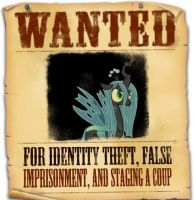 Equestria's Most Wanted-Queen Chrysalis by snakeman1992