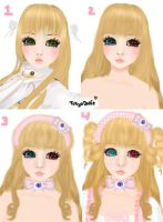 IMVU Picture step transformation by Tokyo-Dollie