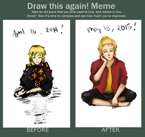Draw this again! (2nd) by AliciaLvellie