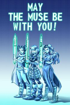 May the Muse Be with You! by nerresta
