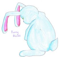 Bunny Blues by cornishmouse
