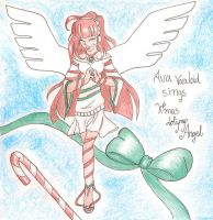 [CONTEST]Ava Vocaloid sings X'mas Lolipop Angel by FeithLAuthor