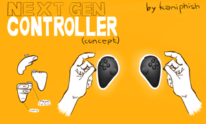 comfortable controller concept by kaniphish