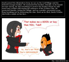 Itachi is a Good Boy by Zinrea