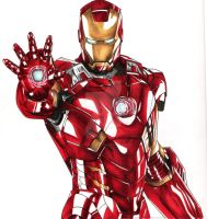 Iron Man  --::Commission::-- by SixthIllusion