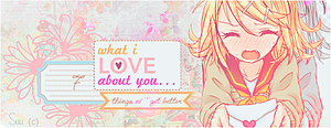 What I Love About You by Sumii02