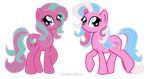 Sweetberry and Conton Candy by mlpAzureGlow