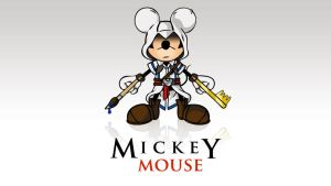 Mickey Mouse Assassin by OlanV8