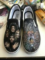 Queen Shoes  by MabMeddowsMercury