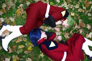 Gundam Seed - Fall by AtlantisLux