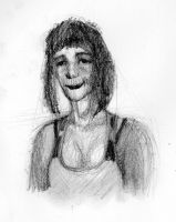 Ines, another girl drawed from chatroulette!! by polikosaurio