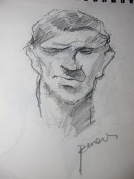 5 min sketch by punilui