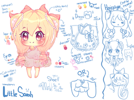 Little Sarah Ref Sheet by BZSarahHime