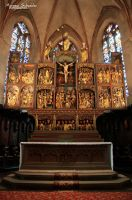Carved altarpiece by MorganeS-Photographe