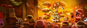 DAY 383. Despicable Me Christmas (WIP - PART 2) by Cryptid-Creations