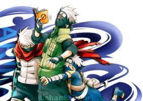 kakashi b-day one year by kalichan88