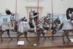Mounted Knight group 4 by oldsoulmasquer