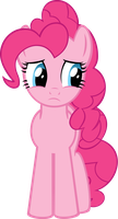 Pinkie Pie Worried by Xigger