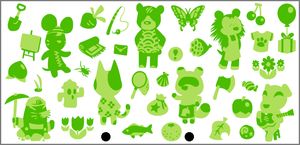 Animal Crossing 3DS Skin by RRRandomness