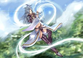COMMISSION: Kuja by Arlequinne