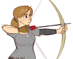 Archery  by strawberryneko33