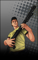 L4D2 - ..Ellis.. by SuperKusoKao