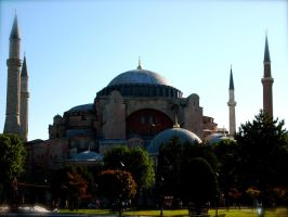The Blue Mosque by jacobjellyroll