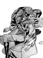 The Death of Gwen Stacy by mau009