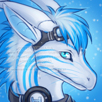 Ice icon by Bluehasia