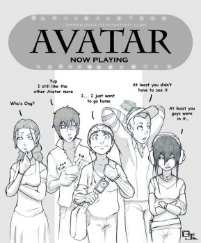 Avatar saw Avatar .2 by DarkKenjie