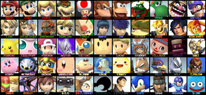 Newest SSB4 Roster by KingDor65