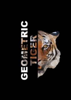 Splitting tiger with typography by zuchan98