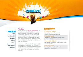 Groove Department website by Eyecatcher33