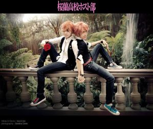Cosplays - Página 2 Ouran__Let__s_Play_by_behindinfinity