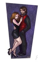 Commission: Couple by iara-art