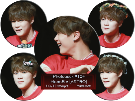 Photopack #104 - MoonBin [from ASTRO] by YuriBlack