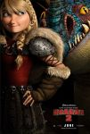 How to train your dragon 2 Astrid Poster by MelySky