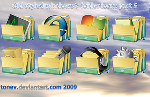 Windows 7 folders 5 by tonev